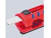 KNIPEX - Univerzální odizolovací nástroj - 125mm - odizolovač kabelů kruhového průřezu Ø 8 - 13mm (1680125SB)