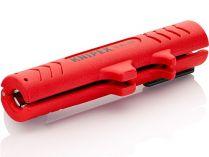 Odizolovací nástroj - nůž KNIPEX 125mm - odizolovač kabelů kruhového průřezu a do vlhkého prostředí