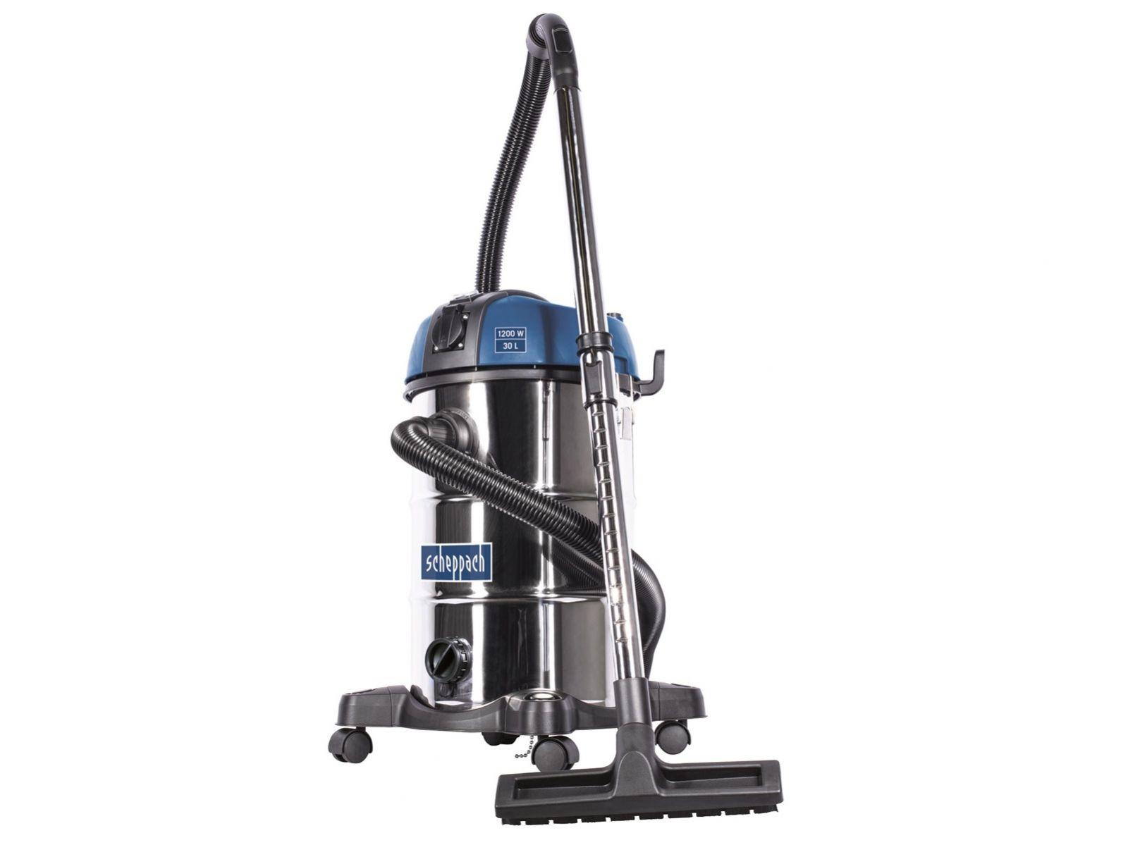 Vysavač na mokré a suché vysávání Scheppach ASP 30 PLUS - 1200W, 30l, 6.8kg (5907716903)