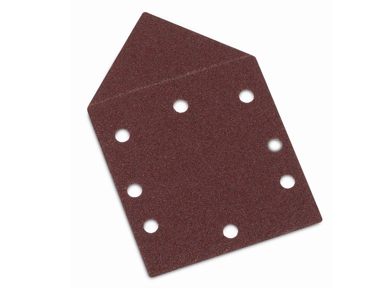 5x Brusný papír - brusivo pro multibrusku PowerPlus POWX0485 (KREATOR KRT220109 TOP) - zr. 240