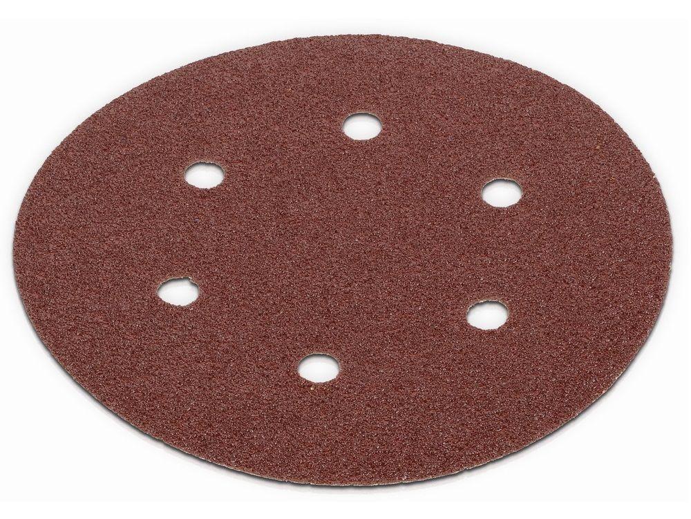5x Brusný papír - brusivo pro brusky KREATOR KRT231009 - 150mm, zr.240