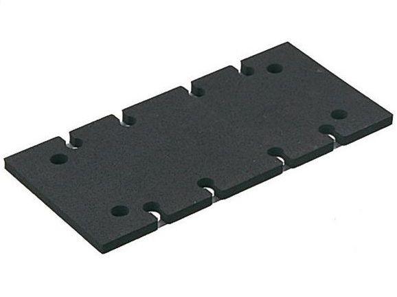 Mechová - Gumová podložka - Brusná deska Makita 197464-8, 140441-9, 93x185mm pro brusku Makita BO3710, BO3711