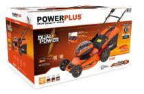 Bezuhlíková aku sekačka PowerPlus POWDPG7568 - 40V, 51cm, 29kg, bez akumulátoru a nabíječky PowerPlus (VARO)