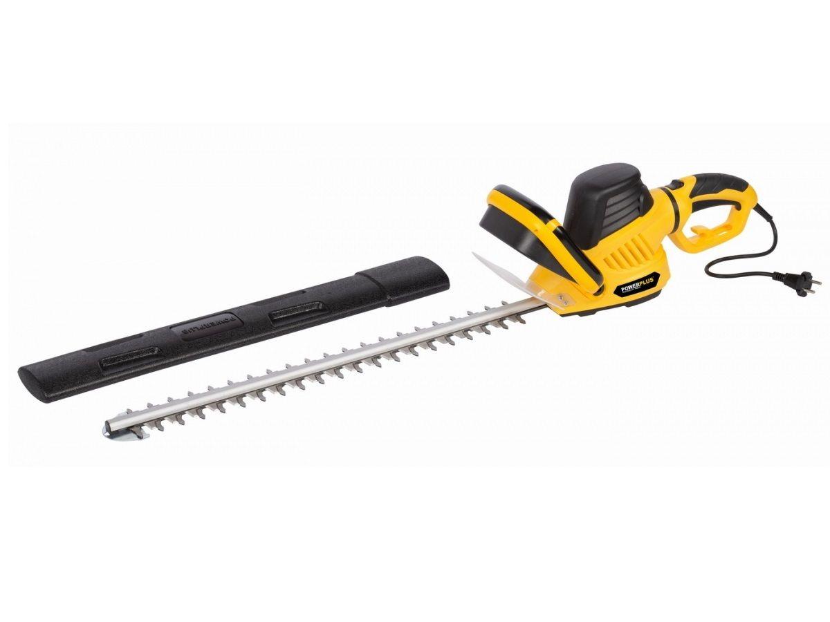 Elektrické nůžky na živý plot - plotostřih PowerPlus POWXG20080 - 600W, 61cm, 3.4kg PowerPlus (VARO)