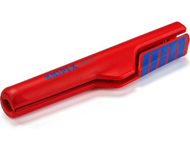 KNIPEX - Odizolovací nástroj - 175mm - na hloubkové odstraňování izolace, Ø 8-13mm (1680175SB)