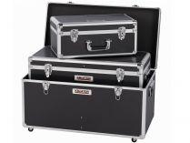 3x Hliníkový XL kufr na nářadí KREATOR KRT640501B - černý
