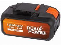 Akumulátor - baterie PowerPlus POWDP9038 - 40V/2.5 Ah Li-ion LG
