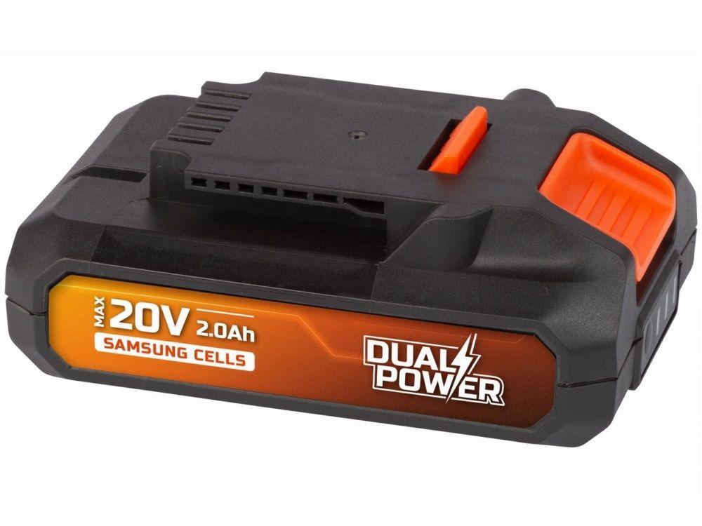 Akumulátor PowerPlus POWDP9021 - 20V/2.0 Ah Li-ion SAMSUNG PowerPlus (VARO)
