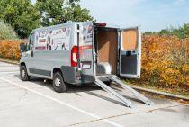 Nájezdová rampa KREATOR KRT670401 - 1ks, nosnost 200kg