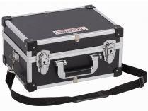 Hliníkový kufr na nářadí KREATOR KRT640106B - 320x230x160mm, 1.36kg, černý