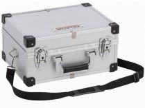 Hliníkový kufr na nářadí KREATOR KRT640106S - 320x230x160mm, 1.34kg, stříbrný
