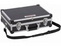 Hliníkový kufr na nářadí KREATOR KRT640101B - 420x300x125mm, 1.8kg, černý