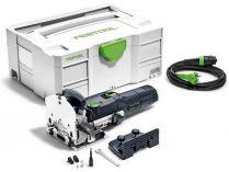 Festool frézka na kolíkové otvory DF 500 Q-Plus - 420W, 28mm, 3.2kg, v Systaineru SYS 2 T-LOC