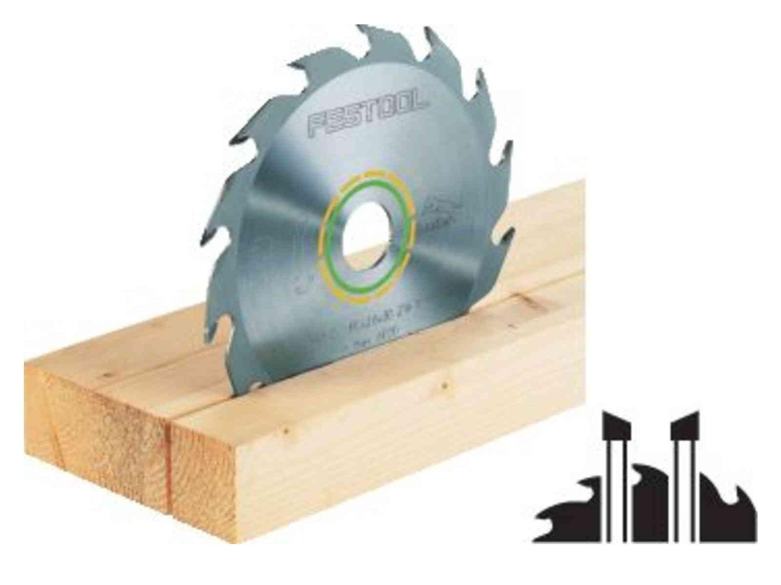 Pilový kotouč na dřevo pro pilu Festool TKS 80 (Festool Panther 254x2,4x30 PW24) 254x30mm, 24 zubů, kód: 575974