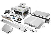Festool TKS 80 EBS-Set - 2200W, 254mm, doraz, stůl, prodloužení, rozšíření a další příslušenství