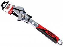 Nastavitelný klíč s měkčenou rukojetí KREATOR KRT505104 - nastavitelná rozteč až 40mm