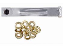 Nýtovací nástroj KREATOR KRT616107 - 10mm, 10ks kroužků