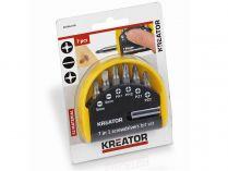 7-dílná sada bitů KREATOR KRT064100 - PZ/FL/PH