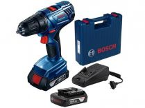 Bosch GSB 180-LI Professional - 2x 18V/2.0Ah, 54Nm, kufr, aku vrtačka s příklepem