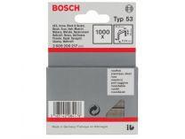 Nerezové sponky do sponkovaček Bosch HT 14 a PTK 14 E Duotac - 14mm, 1000ks, typ 53