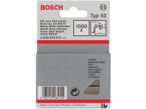 Nerezové sponky do sponkovaček Bosch PTK 3,6 LI, PTK 14 E Duotac, HT 8, HT 14, HMT 53 - 8mm, 1000ks