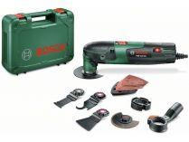 Bosch PMF 220 CE Sada - 250W, 1.1kg, kufr, příslušenství, multifunkční nářadí