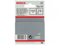 Sponky do sponkovaček Bosch HT 14 a PTK 14 E Duotac - 12mm, 1000ks, typ 53