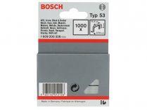 Sponky do sponkovaček Bosch PTK 3,6 LI, PTK 14 E Duotac, HT 8, HT 14, HMT 53 a HMT 57 - 6mm, 1000ks