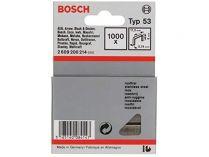 Nerezové sponky do sponkovaček Bosch PTK 3,6 LI, PTK 14 E Duotac, HT 8, HT 14, HMT 53 - 6mm, 1000ks