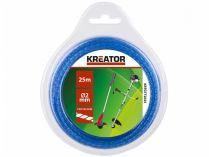 Struna do vyžínače kroucená KREATOR KRTGTT2025 - Ø2mm, 25m