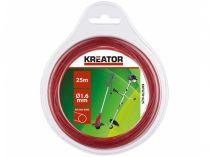Struna do vyžínače kulatá KREATOR KRTGTR1625 - Ø1.6mm, 25m