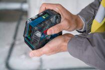 Bosch GLL 2-15 G Professional Křížový laser - 4x AA, 15m, stavební stativ, držák, cílová destička, taška (0601063W01) Bosch PROFI