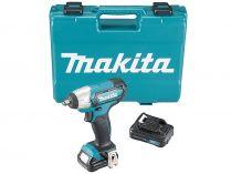 Makita TW140DSAEX - 2x 12V/2.0Ah, 3/8'', 135Nm, 1kg, kufr, aku rázový utahovák