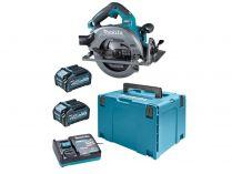 Makita HS003GM201 - 2x 40V/4.0Ah Li-ion XGT, 190mm, 4.4kg, kufr, bezuhlíková aku okružní pila