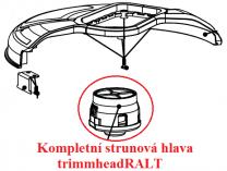 Strunová hlava pro křovinořez Riwall PRO RALT 3040 (komplet trimmheadRALT)