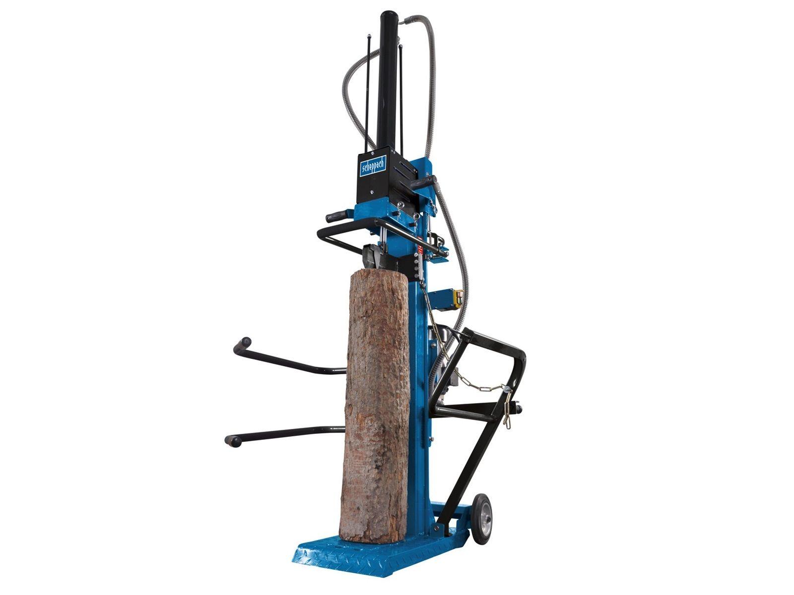 Vertikální štípač dřeva - profesionální štípač na dřevo Scheppach HL 1020 - 230V, 3700W, 10t, 168kg (5905313901)