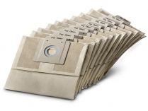 10ks Papírové filtrační sáčky Kärcher - třída prachu L