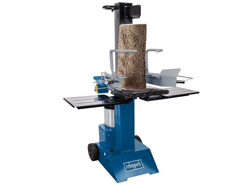 Vertikální štípač dřeva - profesionální štípač na dřevo Scheppach HL 815 - 400V, 3000W, 8t, 100kg (5905317902)