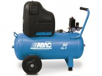 Bezolejový kompresor ABAC O20PN-1,5-50CM - 1500W, 8bar, 230l/min, 30kg