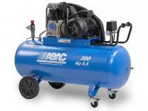 Olejový kompresor ABAC A49B-4-200CT Pro Line A - 4000W, 200l, 11bar, 595l/min, 114kg