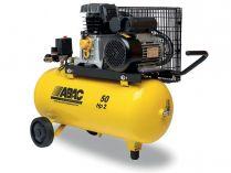 Olejový kompresor ABAC B26-1,5-50CM - 1500W, 10bar, 50L, 210l/min, 50kg