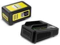 Sada Kärcher Starter kit Battery POWER 18/50: 1x aku 18V/5.0Ah + rychlonabíječka