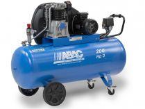 Olejový kompresor ABAC A49B-2,2-200CM Pro Line A - 2200W, 200L, 11bar, 444l/min, 109kg