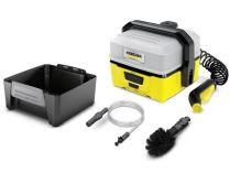 Mobilní aku vysokotlaký čistič Kärcher OC 3 Adventure Box - Li-Ion, nízký tlak, 2l/h, 2.2kg