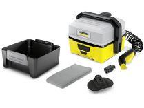 Mobilní aku vysokotlaký čistič Kärcher OC 3 Pet Box - Li-Ion, nízký tlak, 2.2kg