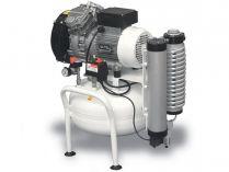 Bezolejový kompresor ABAC CLR-1,1-25M Clean Air CLR - 1.1kW, 25L, 240l/min, 8bar, 31kg