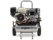 Olejový kompresor ABAC EA4-3,5-22RP Engine Air - 3.5kW, 22L, 320l/min, 10bar, 54kg