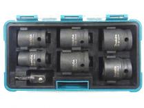 "6-dílná sada nástrčkových klíčů Makita B-69733 - 1/2"" pro rázové utahováky"