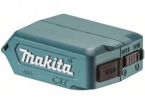 Adaptér pro akumulátory Makita Li-ion 10.8/12V CXT umožňující nabíjení přístoje přes USB DC5V/2.1A