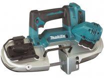 Makita DPB183Z - 18V, 66mm, 3.3kg, bez aku, bezuhlíková aku pásová pila